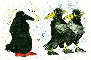 illustration burka rabe - Illustrationen