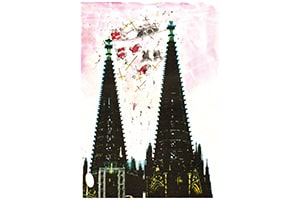 illustration gipfeltreffen - Illustrationen