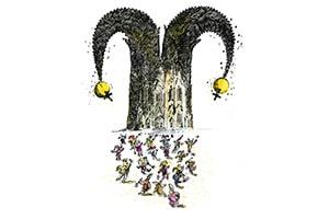 illustration narrendom - Illustrationen