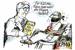 karikatur hahn - Zeitungskarikaturen