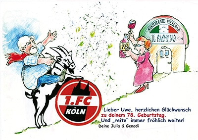 glueckwunschkarten karikatur effzeh 400 - Glückwunschkarten