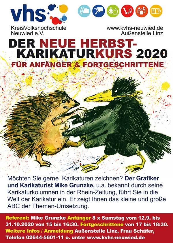 Kurs Herbst VHS Linz - Dozententätigkeit